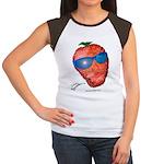 Cool Strawberry Women's Cap Sleeve T-Shirt