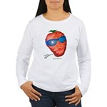 Cool Strawberry Women's Long Sleeve T-Shirt