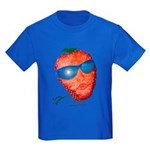 Cool Strawberry Kids Dark T-Shirt