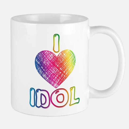 I Heart Idol Mug