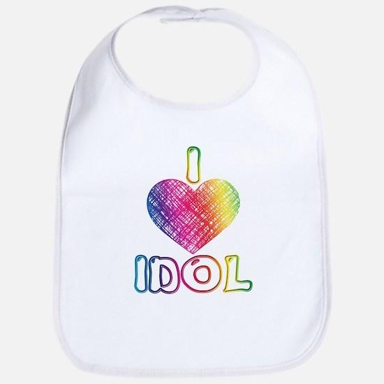 I Heart Idol Bib