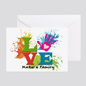 Adoption greeting cards cafepress love greeting card m4hsunfo