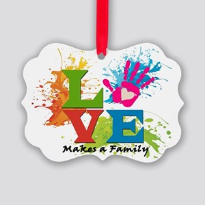 Love Picture Ornament