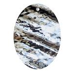 Glittering Ornament (Oval)