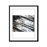 Glittering Framed Panel Print