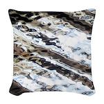 Glittering Woven Throw Pillow