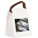 Glittering Canvas Lunch Bag