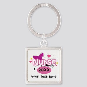Personalized Nurse Graduation Keychains