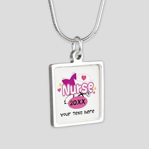 Personalized Nurse Graduation Necklaces