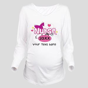 Personalized Nurse Graduation Long Sleeve Maternit