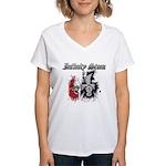 Infinity Stone Women's V-Neck T-Shirt