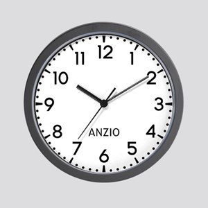 Anzio Newsroom Wall Clock