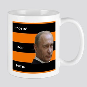 Rootin For Putin (square) Mugs