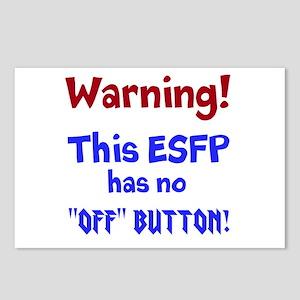 ESFP Warning Postcards (Package of 8)