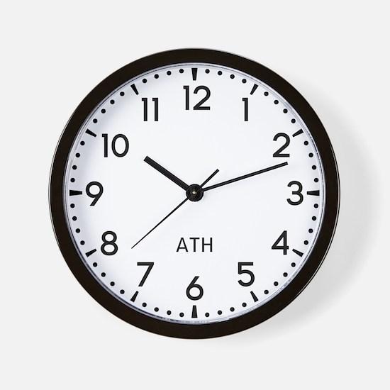 Ath Newsroom Wall Clock