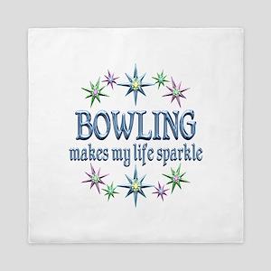 Bowling Sparkles Queen Duvet