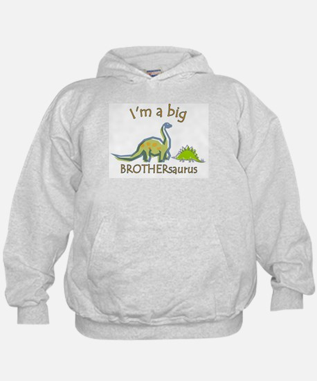 I'm a Big Brother Dinosaur Hoodie