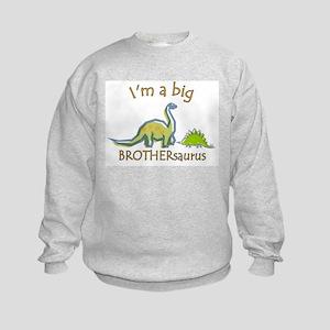 I'm a Big Brother Dinosaur Kids Sweatshirt
