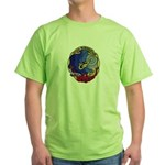 USS BLUEBACK Green T-Shirt