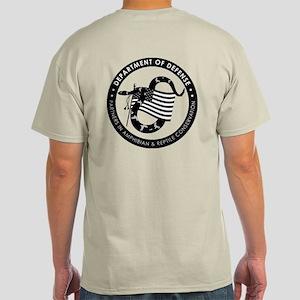 Men's Light T-Shirt (logo On Back)