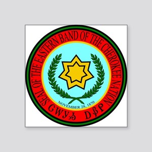Eastern Band of the Cherokee Seal Sticker