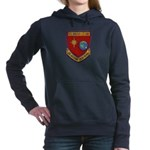 USS BOULDER Women's Hooded Sweatshirt