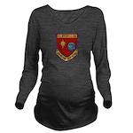 USS BOULDER Long Sleeve Maternity T-Shirt