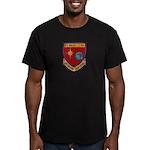 USS BOULDER Men's Fitted T-Shirt (dark)