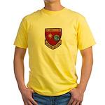 USS BOULDER Yellow T-Shirt