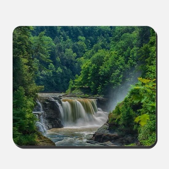 Lower Falls Letchworth Mousepad