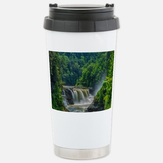 Lower Falls Letchworth Stainless Steel Travel Mug