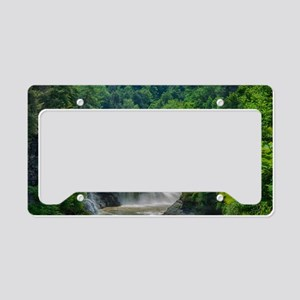 Lower Falls Letchworth License Plate Holder