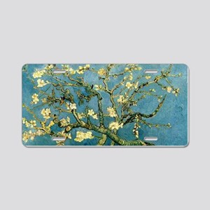VanGogh Almond Blossoms Aluminum License Plate
