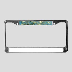 VanGogh Almond Blossoms License Plate Frame