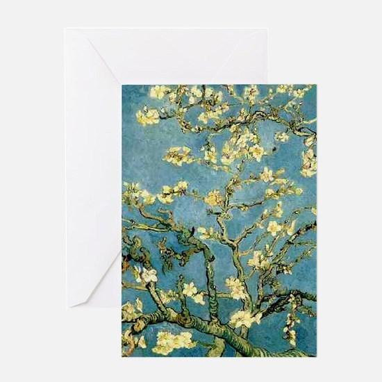 VanGogh Almond Blossoms Greeting Cards