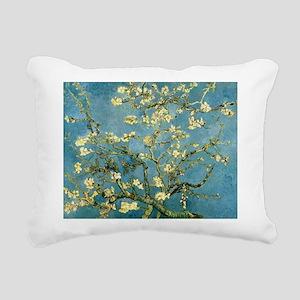 VanGogh Almond Blossoms Rectangular Canvas Pillow
