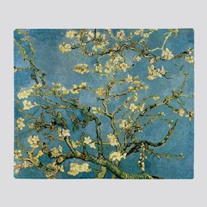 VanGogh Almond Blossoms Throw Blanket