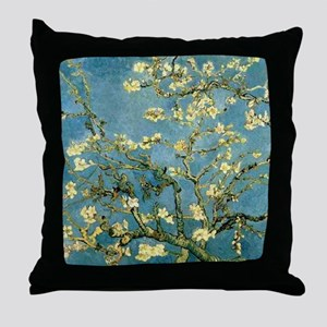VanGogh Almond Blossoms Throw Pillow