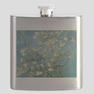 VanGogh Almond Blossoms Flask