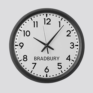 Bradbury Newsroom Large Wall Clock
