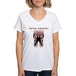 King Tribal Women's V-Neck T-Shirt