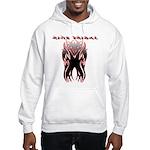 King Tribal Hooded Sweatshirt