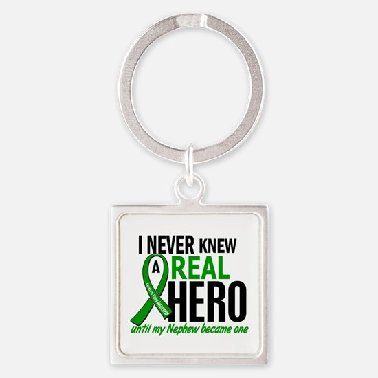 Cerebral Palsy Real Hero 2 Square Keychain