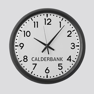 Calderbank Newsroom Large Wall Clock