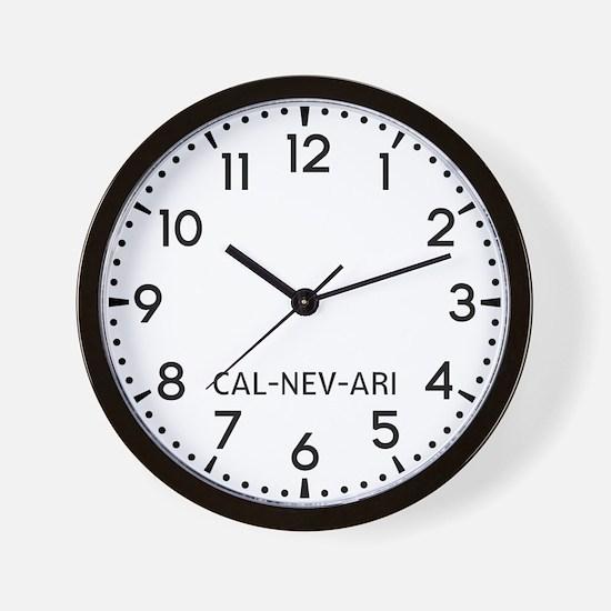 Cal-Nev-Ari Newsroom Wall Clock