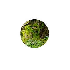 Mossy Tree Mini Button