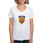 USS BRADLEY Women's V-Neck T-Shirt