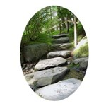 Stepping Stones Ornament (Oval)