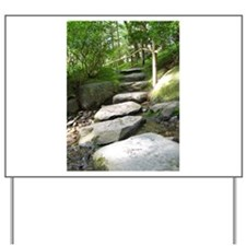 Stepping Stones Yard Sign