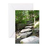 Stepping Stones Greeting Cards
